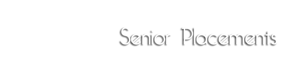Senior-Placements